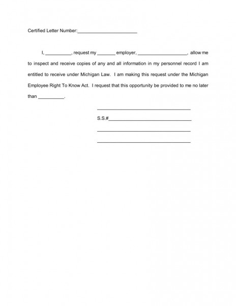 Guidlines For Employee Personnel Files