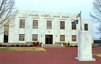 Pickens County Court house